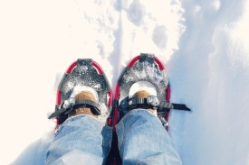 FIRST STEPS WITH MY SNOWSHOES
