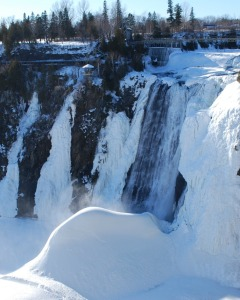 At the Montmorency falls.