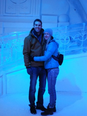 AT THE ICE HOTEL