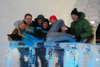 THE ICE HOTEL IN QUEBEC