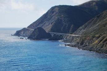 Scenic coast drive