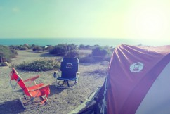 Camping at Laguna Beach