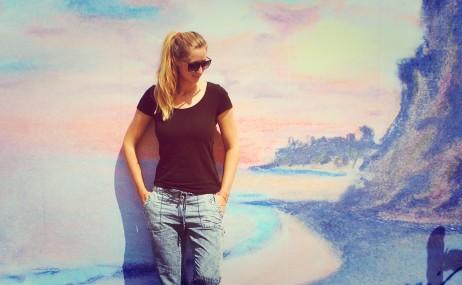 At Paradise Cove, Malibu